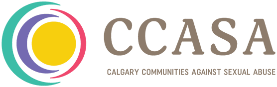 Calgary Communities Against Sexual Assault logo for website